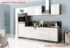 Küchenblock Ohne Elektrogeräte - k 252 chenblock ohne ger 228 te einbauk 252 che ohne elektroger 228 te 280