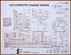 Stingray 1976 Corvette Wiring Diagram by 1976 Corvette Diagram Electrical Wiring Corvetteparts