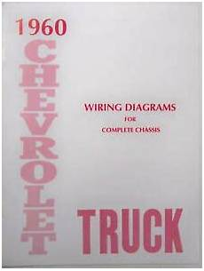 1960 Chevy Truck Wiring Diagram Manual Ebay