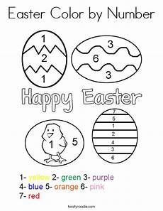 color by number worksheets easter 16129 easter color by number coloring page twisty noodle