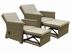 sessel luxus loungesessel hton set sessel verstellbar polyrattan