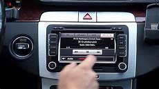 autoradio mit dab demonstration av integrerad dab i volkswagen original