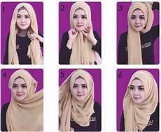 30 Contoh Cara Memakai Jilbab Segi Empat Terbaru 2017