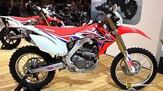 honda 250 enduro 2016 honda crf250 enduro r walkaround 2015 salon moto