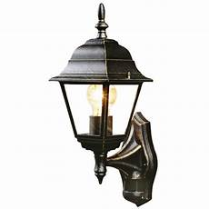 b q penarven outdoor wall light in black and gold wall light review compare prices buy online