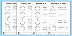 2d shapes worksheets uk 1300 year 2 properties of 2d shapes differentiated worksheet twinkl