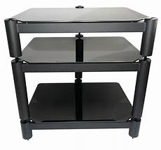 hifi racks fisual ensemble hi fi rack matte black 150mm shelf module