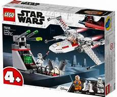 lego wars x wing starfighter trench run 75235 ab