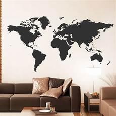 Weltkarte Auf Wand Malen Wie Kunst