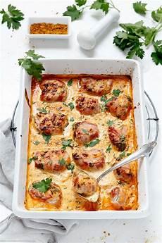 Gerichte Mit Schweinefilet - schweinefilet mit bacon in currysahne rezept