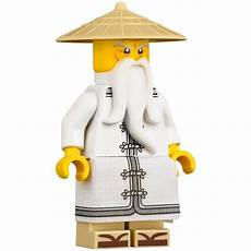 Lego Ninjago Sensei Wu Lego Sensei Wu With White Robe And Sandals Minifigure