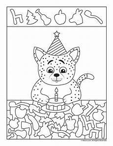 my birthday printable worksheets 20257 birthday cat i worksheet woo jr activities