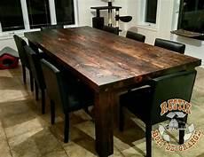 Table De Cuisine En Vieux Bois Atwebster Fr Maison Et