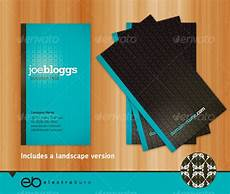 portrait business card template pages generic business card portrait landscape graphicriver