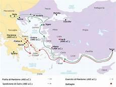 riassunto delle guerre persiane dalla rivolta ionica alla prima persiana studia