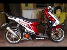 Honda Beat Modifikasi Simple by Cah Gagah Modifikasi Motor Honda Beat Velg Racing