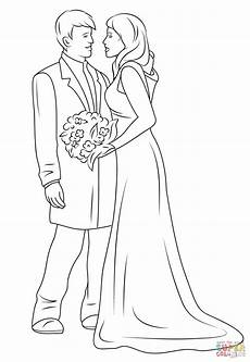 Malvorlagen Wedding Wedding Coloring Page Free Printable Coloring Pages