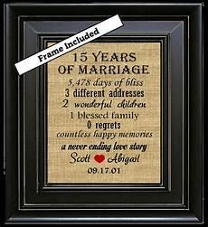 15 Wedding Anniversary Ideas