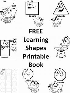 free how to draw shapes printable book for preschool kids learning shapes preschool