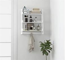Spirich 3 Tier Bathroom Shelf Wall Mounted With Towel
