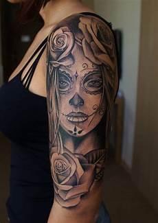 Tattoovorlagen Frauen Arm - arm vorlagen frau la catrina frauen