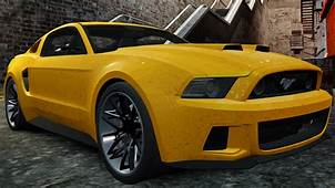 Ford Mustang Shelby GT500 2013 Need For Speed Edition