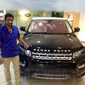 Santhanam – Range Rover Evoque  Super Cars Of Stars