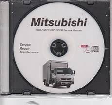 old car repair manuals 1987 mitsubishi truck instrument cluster 1986 1987 mitsubishi fuso fk fm 6d14 6d14t truck service manual cd rom