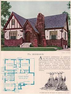 english tudor cottage house plans 1929 home builders catalog hobson in 2019 vintage