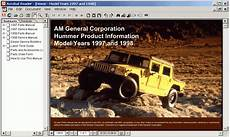free download parts manuals 1993 hummer h1 auto manual hummer h1 1997 1998