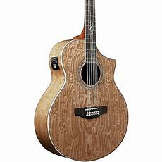 wood acoustic guitars ibanez ew2012asent 12 string wood acoustic electric guitar gloss music123