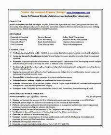 resume template for senior acountant 23 accountant resume templates in pdf free premium
