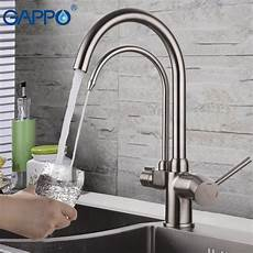 kitchen faucet with built in water filter gappo kitchen faucet with filtered water brass kitchen sink faucet water faucet filter water