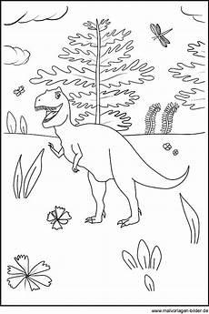 kostenlose ausmalbilder dinosaurier und dinos