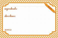 4x6 index card template free free printable 4x6 recipe card
