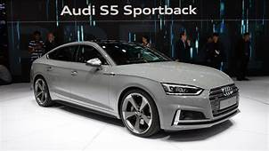 Audi A5 And S5 Sportbacks Look Slinky For The Paris Motor