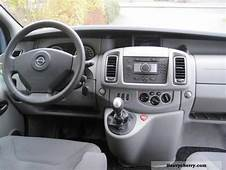 2008 Opel Vivaro Photos Informations Articles
