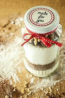 Brownie Backmischung Im Glas Kaffee Cupcakes