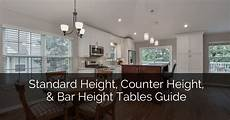 standard height counter height and bar height tables standard height counter height and bar height tables