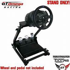 supporto per volante ps3 gt omega steering wheel stand for thrustmaster t300rs
