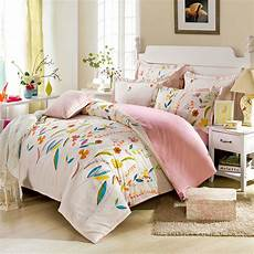 enchanting light pink floral bedding set ebeddingsets