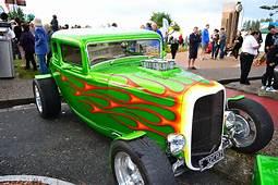 Old School Hot Rod Flames Vector  Hotrod Car Art