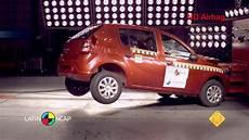 Crash Test O Renault Sandero
