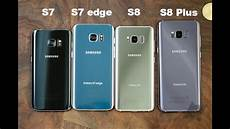 S7 Vs S7 Edge Vs S8 Vs S8 Plus
