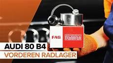 wie audi 80 b4 radlager vorne wechseln tutorial autodoc