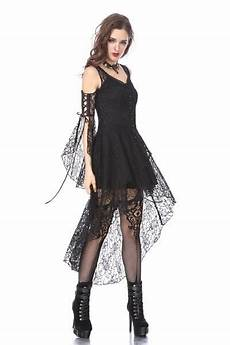 black gothic elegant lace high low dress dw166 in 2019 gothic dress gothic outfits gothic
