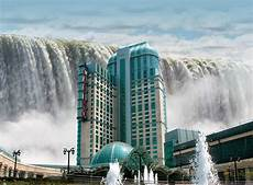 world visits welcome to niagara falls colorful view in