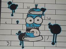 Graffiti Bombe De Peinture By Floozdrawing On Deviantart