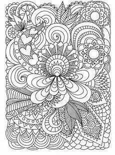 Ausmalbilder Erwachsene Muster Coloring Pages For Adults Coloring Printable