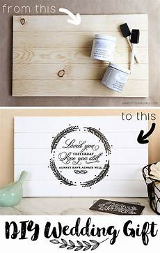Handmade Wedding Gifts For The And Groom